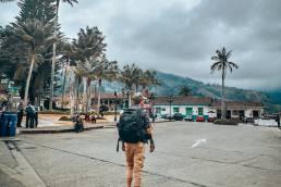Colombia Salento Gijs Osprey Farpoint liggend