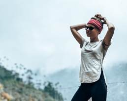 Instagram Colombia Salento Valle de Cocora Lies merino wol shirt