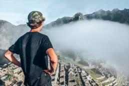 Peru Machu Picchu Gijs uitzicht