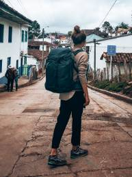 Colombia Salento lies backpack Thule Landmark