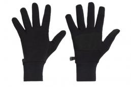Merinowol handschoenen zwart heren dames unisex Icebreaker