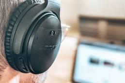 Bose quietcomfort noise cancelling koptelefoon Gijs werken